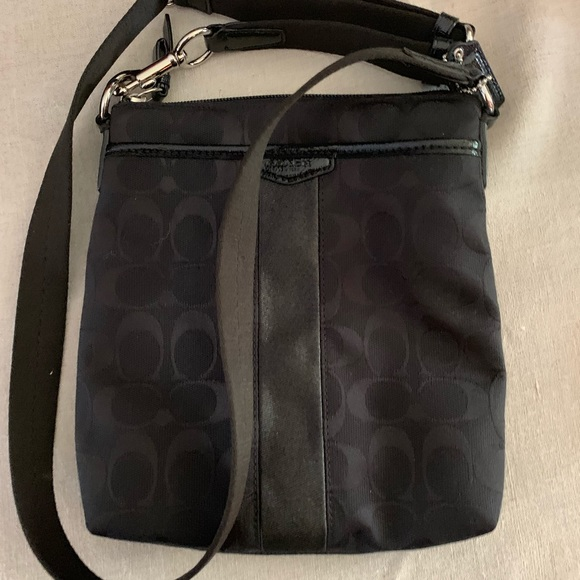 Coach Handbags - Black Crossbody Bag
